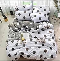 Комплект постельного белья Наша Швейка Бязь Горошины Евро 220 х 240 см