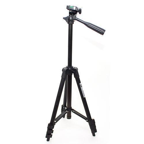 Штатив для фотоаппарата Tripod 3120 (высота 35-105 см) для экшн камер, смартфонов, телефонов и видеокамер