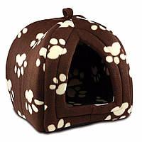 Домик для домашних животных Pet Hut, только коричневый, фото 1