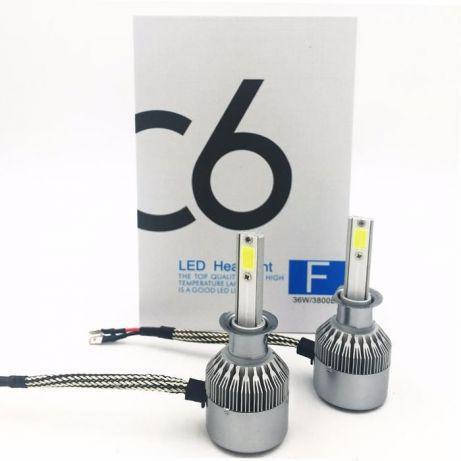 Комплект LED ламп C6 H3 ксенон, фото 2