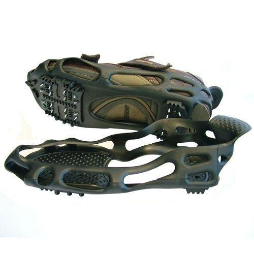 Накладки на обувь против скольжения, ледоходы, BlackSpur, 24 шипа, размер - L (39-44)