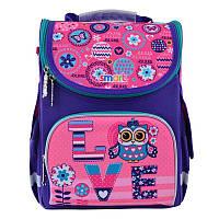 Рюкзак школьный каркасный Smart PG-11 Bright fantasy (555926)