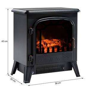 Электрокамин Сountry 900/1800 Вт с эффектом огня  36 x 25,5 x 41,5 см, фото 2