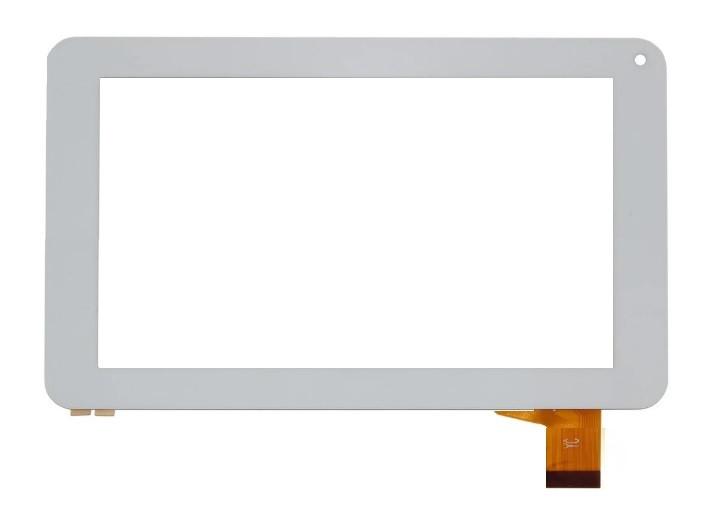 "Сенсор (Тачскрин) для планшета 7"" Pixus Play One (тип 1) (186*111 мм) 30pin (Белый) Оригинал Китай"