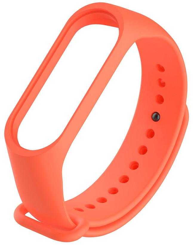 Ремешок для фитнес трекера Xiaomi Mi Band 3/4 Оранжевый