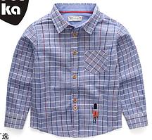Детская рубашка 100, 110,  130, 140