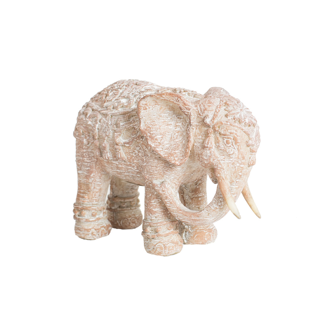 Интерьерный декор слон 10см  108268