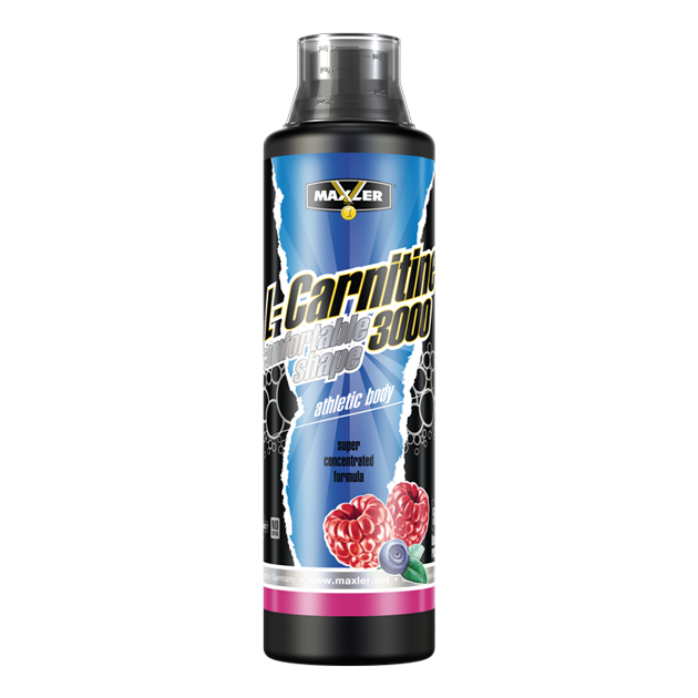 Max_L-Carnitine Comfortable Shape 3000 500ml - blueberry-raspberry