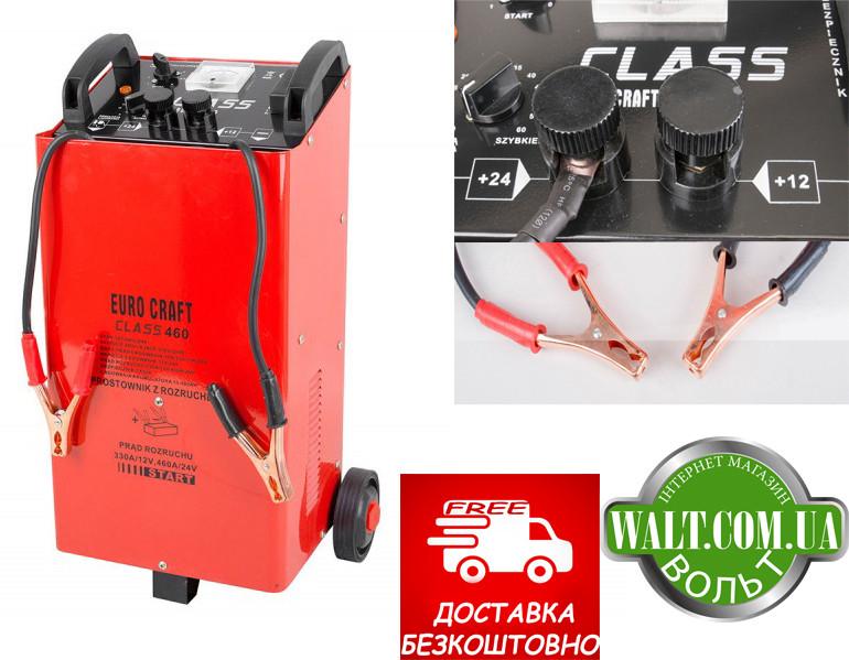 Пуско-зарядное устройство Euro Craft CLASS460 12/24в заряде автомобільне