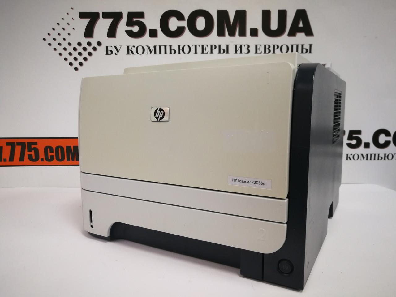 Лазерный принтер бу HP LaserJet P2055d, картридж 505X (6500 страниц), оплата частями