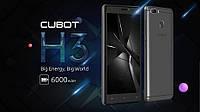 Смартфон Cubot H3 Супер батарея 6000 mAh