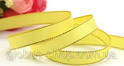 Лента люрекс 0,9 см Цвет желтый