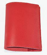 Обложка для паспорта красная