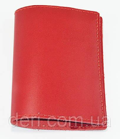 Обложка для паспорта красная, фото 2