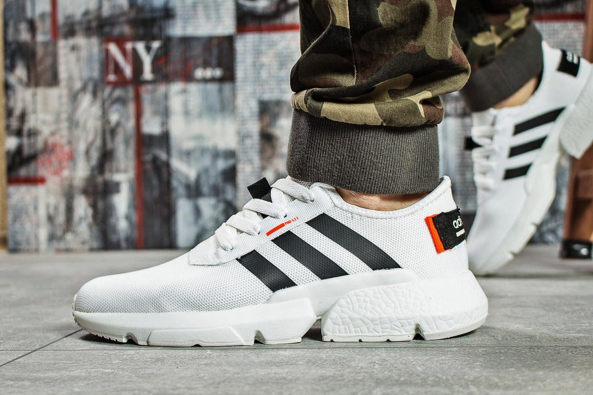 Кроссовки мужские Adidas Pod-S 3.1, белые (15691) размеры в наличии ► [  46 (последняя пара)  ]