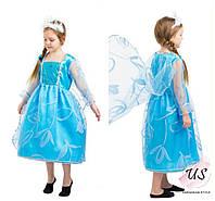 Карнавальный костюм Принцессы Эльзы детский