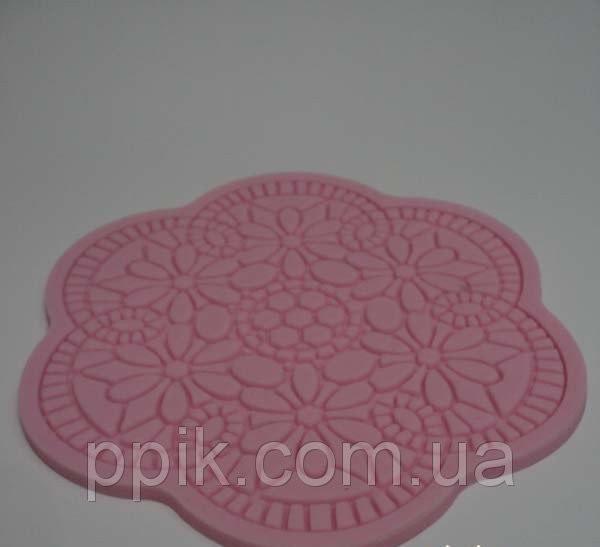 Коврик кондитерский силиконовый для айсинга Цветок