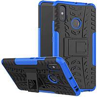 Чехол Armor Case для Xiaomi Mi Max 3 Синий