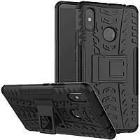 Чехол Armor Case для Xiaomi Mi Max 3 Черный