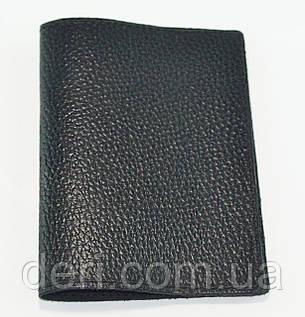 Обложка для паспорта, черная глянцевая, фото 2