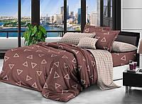 Комплект постельного белья Наша Швейка Ранфорс Dark Martin Двуспальный 180 х 215 см