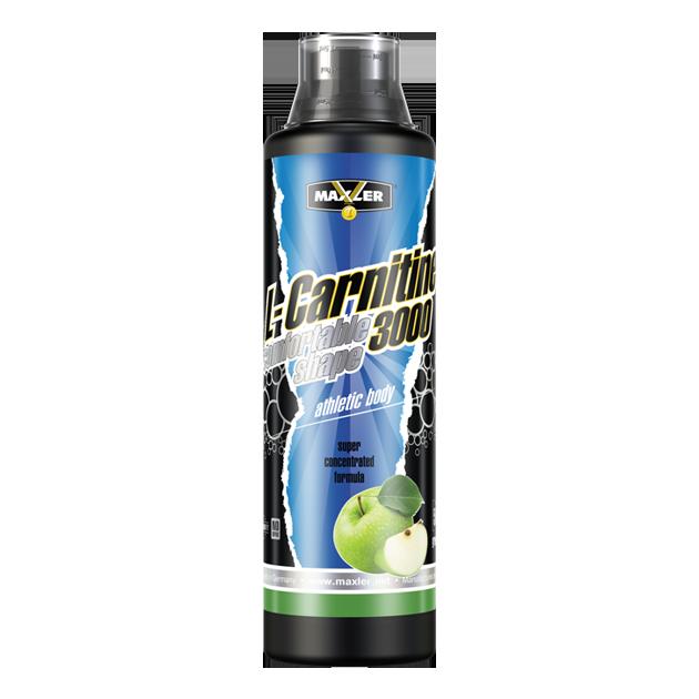 Max_L-Carnitine Comfortable Shape 3000 500ml - green apple
