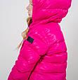 Детская куртка для девочки Верхняя одежда для девочек 313 Италия GDG200 Розовый, фото 2