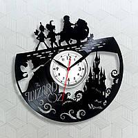 Волшебник страны Оз Часы для детей Виниловые часы Долгое путешествие Сказка на ночь Идеи для спальни Часы 30см
