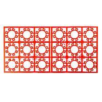 Пістони №8 блок пістонів: 18 пістонів з вісьмома звуковими пострілами ( 620шт.) *