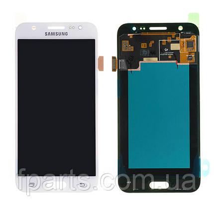 Дисплей для Samsung J500 Galaxy J5 с тачскрином, White (Service Pack Original), фото 2