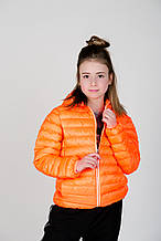 Детская куртка для девочки Верхняя одежда для девочек MEK Италия 191MHAA002 Оранжевый