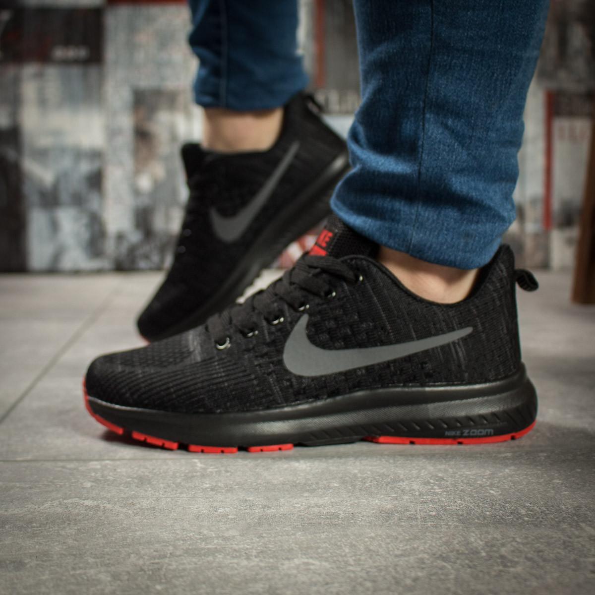 Кроссовки женские 16002, Nike Zoom Pegasus, черные ( 36 37 38  )
