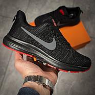Кроссовки женские 16002, Nike Zoom Pegasus, черные ( 36 37 38  ), фото 7