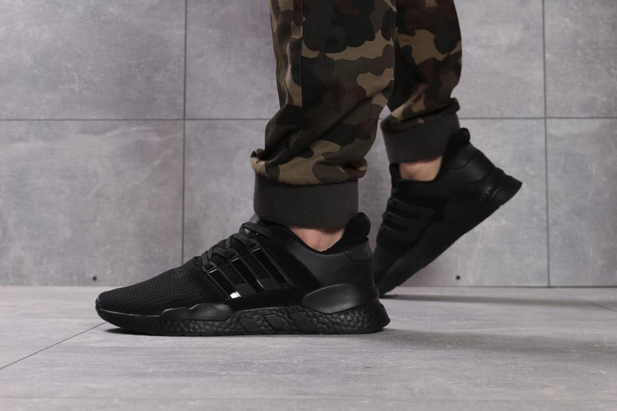 Кроссовки мужские Adidas Adv / 91-18, черные (16111) размеры в наличии ► [  44 46  ]