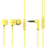 Навушники Remax RM-502 Earphone Жовтий