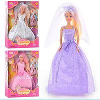 Кукла 33см. DEFA 3 вида в коробке 6003