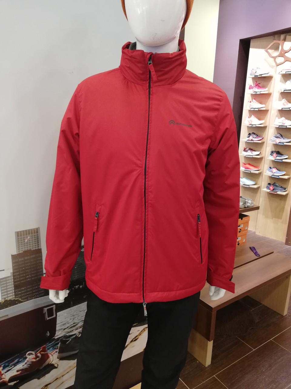 Мужская красная утепленная куртка Outventure
