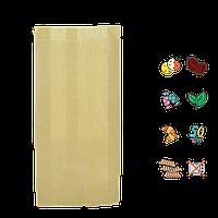 Бумажный пакет без ручек крафтовый 310х160х70мм (ВхШхГ) 50г/м² 100шт (974)