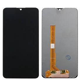Дисплей (экран) для Vivo Y91 с сенсором (тачскрином) черный Оригинал