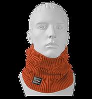 Шарф Бафф (Снуд) мужской вязаный Elf оранжевый, Oxygon Россия