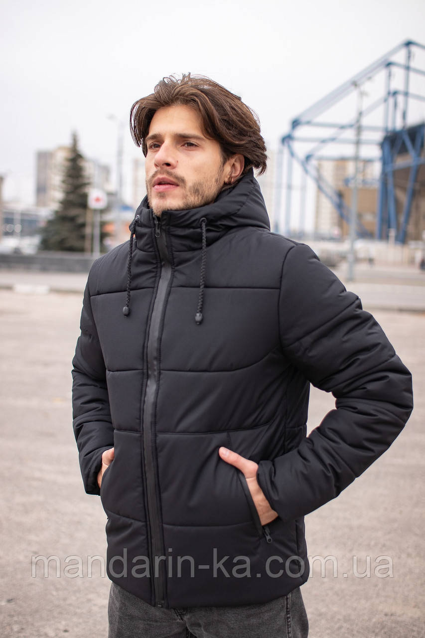 """Куртка  мужская  зимняя  черная  """"Glacier""""  3 цвета"""