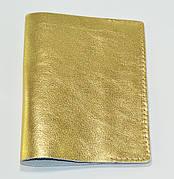 Обложка для паспорта  золота