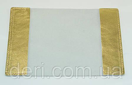Обложка для паспорта  золота, фото 2