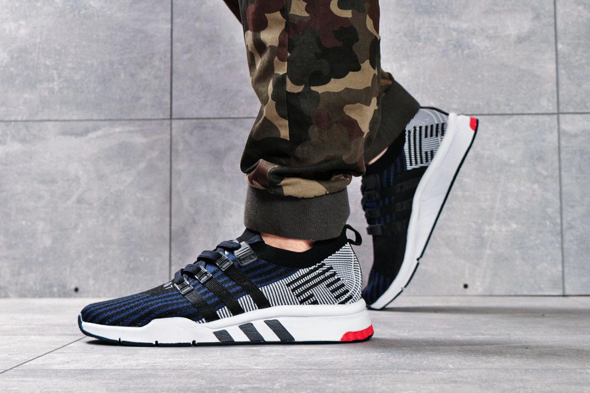 Кроссовки мужские 16203, Adidas EQT Support, черные ( 41 42 44 45  )