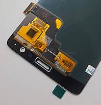 Модуль (сенсор+дисплей) для OnePlus 3 A3003 / 3T A3010 (OLED) білий, фото 3