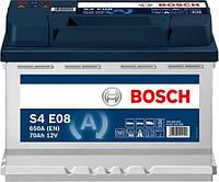 Аккумулятор Bosch S4 70AH/650A (S4E08) EFB