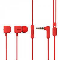Наушники Remax RM-502 Earphone Красные