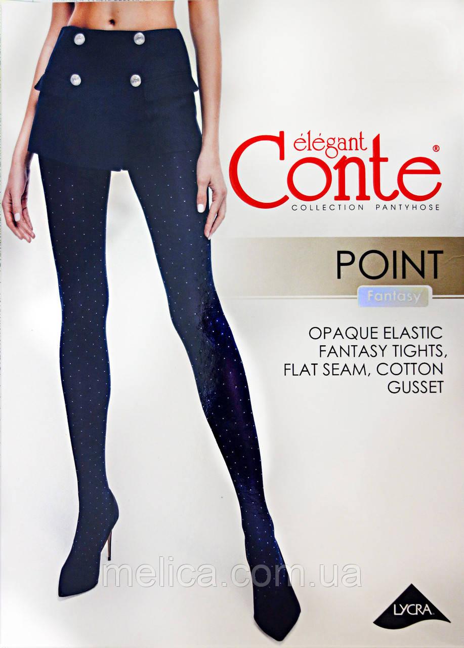 """Колготки с рисунком """"точки"""" Conte Fantasy POINT 50"""