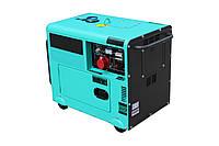 Трехфазный дизельный генератор AyPower AYD7000S-3 (7 кВт)