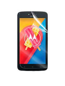 Глянцевая защитная пленка для Motorola Moto C XT1750